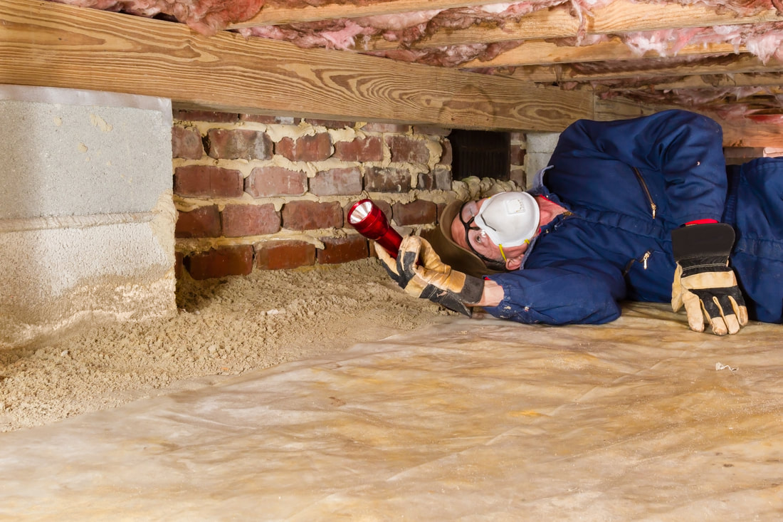 Builders report home and building inspection pre for What does crawl space foundation mean